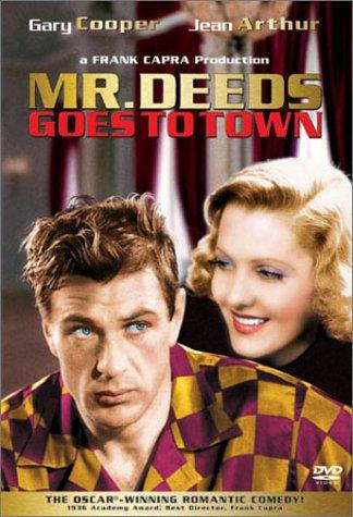 Мистер Дидс переезжает в город / Mr. Deeds Goes to Town (Фрэнк Капра / Frank Capra) [1936, США, Комедия, DVDRip] AVO (Либергал) + Original (ENG)