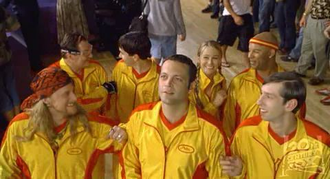 Dodgeball Movie Pictures. gleefully silly Dodgeball: