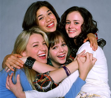 Blake Lively Sisters on Groucho Reviews  Interview  America Ferrera   The Sisterhood Of The