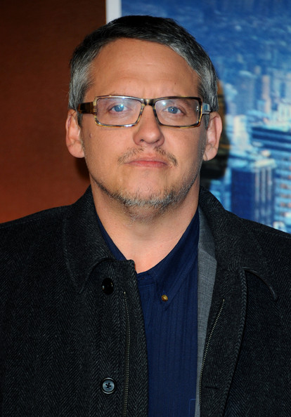 The 49-year old son of father (?) and mother(?), 196 cm tall Adam McKay in 2017 photo